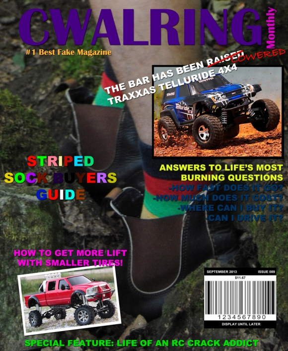 SEPTEMBER ISSUE OUT ON TIME!